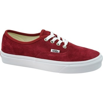 Shoes Women Low top trainers Vans Authentic Burgundy