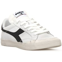 Shoes Men Low top trainers Diadora Melody Lea White