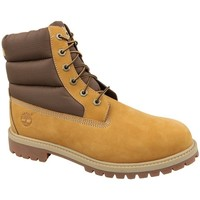 Shoes Children Safety shoes Timberland 6 IN Quilit Boot J Brown, Honey