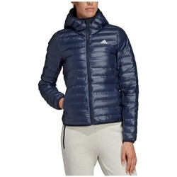 Clothing Women Duffel coats adidas Originals W Varilite HO Jacket Navy blue