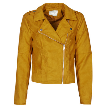 Clothing Women Leather jackets / Imitation leather JDY JDYNEW PEACH Mustard