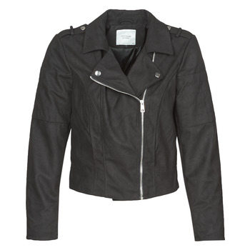 Clothing Women Leather jackets / Imitation leather JDY JDYNEW PEACH Black