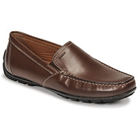 Shoes Men Loafers Geox MONET Brown