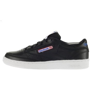 Shoes Men Low top trainers Reebok Sport Club C 85 SO White,Black