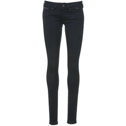 Clothing Women slim jeans Tommy Jeans SOPHIE Blue / Dark