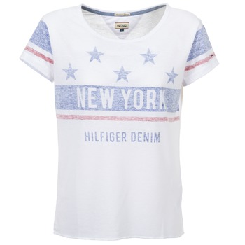 Clothing Women short-sleeved t-shirts Tommy Jeans PHIEBY White