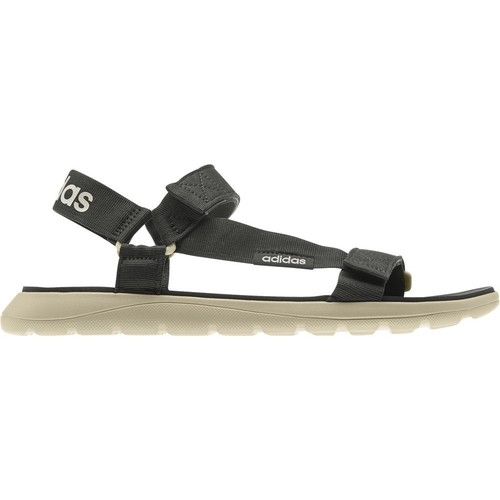 Shoes Men Sandals adidas Originals Comfort Black,Beige