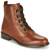 Shoes Women Mid boots Betty London NAMA Camel