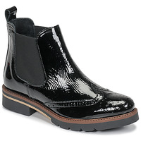 Shoes Women Mid boots Betty London NAVA Black / Varnish