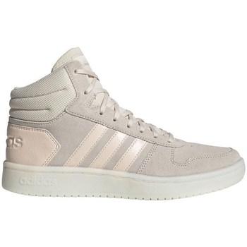 Shoes Women Hi top trainers adidas Originals Hoops 20 Mid Beige
