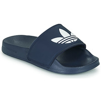 Shoes Children Low top trainers adidas Originals ADILETTE LITE J Marine / White