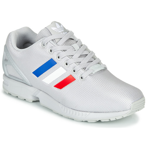 Shoes Low top trainers adidas Originals ZX FLUX Grey