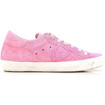 Shoes Women Low top trainers Philippe Model CLLD XR04 Bright Pink