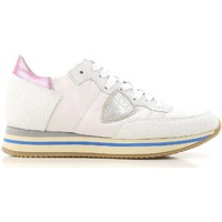 Shoes Women Low top trainers Philippe Model THLD VP01 white