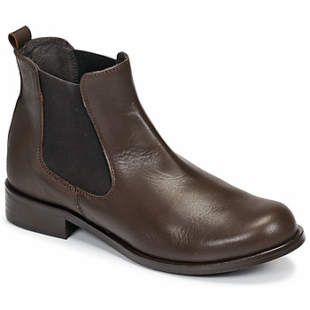 Shoes Women Mid boots So Size NITINE Brown