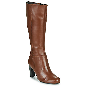 Shoes Women High boots So Size ARDEIN Brown