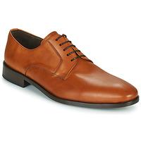 Shoes Men Derby Shoes So Size MANUELA Brown
