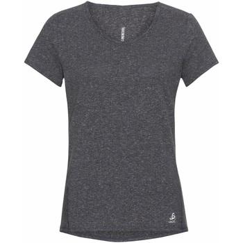 Clothing Women Short-sleeved t-shirts Odlo T-shirt femme  Lou Linencool gris