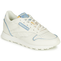 Shoes Low top trainers Reebok Classic CL LTHR White