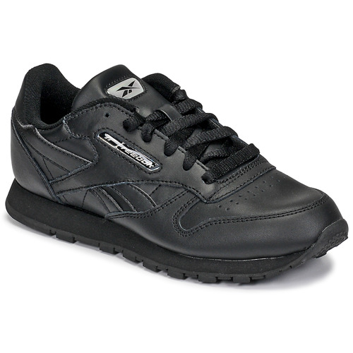 Shoes Children Low top trainers Reebok Classic CLASSIC LEATHER Black