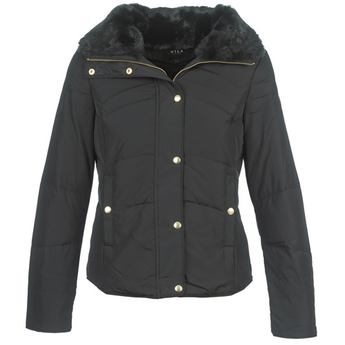 Clothing Women Duffel coats Vila VILONAR DOWN Black