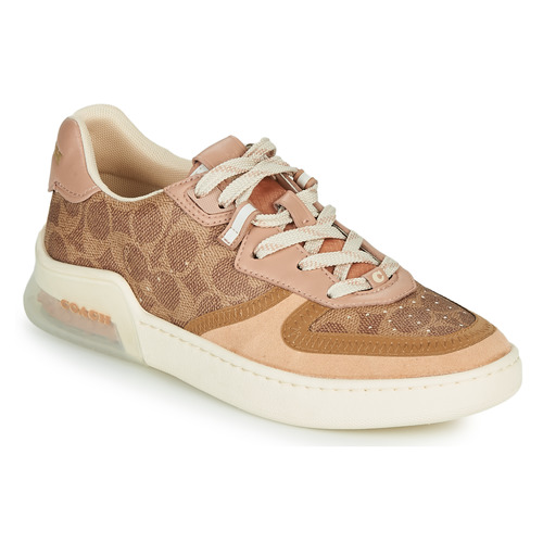 Shoes Women Low top trainers Coach CITYSOLE Cognac / Beige / Nude