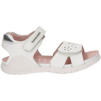 Shoes Girl Sandals Biomecanics LEATHER SANDALS AYILA WHITE