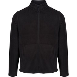 Clothing Men Fleeces Professional Classic Full Zip Lightweight Microfleece Black Black