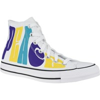 Shoes Hi top trainers Converse Chuck Taylor All Star HI Peace White