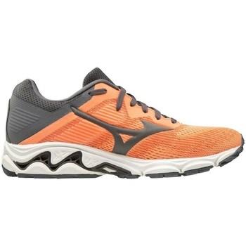 Shoes Women Running shoes Mizuno Wave Inspire 16 W White, Grey, Orange