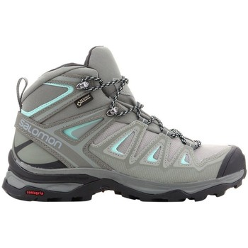 Salomon X Ultra 3 Wide Mid Gtx women's Walking Boots in Grey