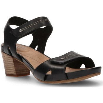 Shoes Women Sandals Clarks SANDALS  UN PALMA VIBE BLACK