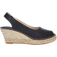 Shoes Women Espadrilles Ramoncinas ESPADRILLES VIBORA 5 STRINGS BLUE