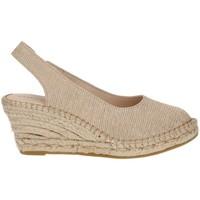 Shoes Women Espadrilles Ramoncinas ESPADRILLES VIBORA 5 STRINGS BEIGE