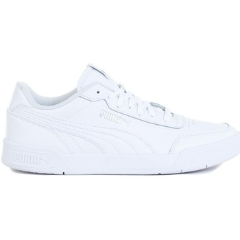 Shoes Men Low top trainers Puma Caracal White