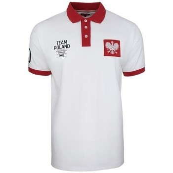 Clothing Men Short-sleeved polo shirts Monotox Polo Team Poland White