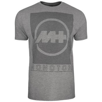Clothing Men Short-sleeved t-shirts Monotox Concentric Grey