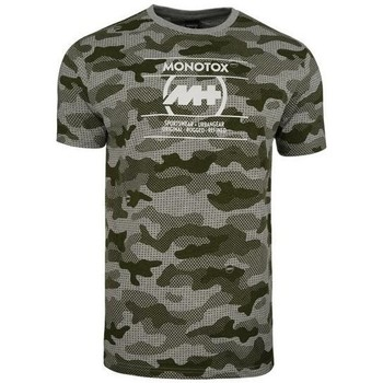 Clothing Men Short-sleeved t-shirts Monotox Camo Aop Olive