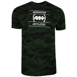 Clothing Men Short-sleeved t-shirts Monotox Camo Aop Black