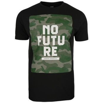 Clothing Men Short-sleeved t-shirts Monotox NO Future Olive,Black
