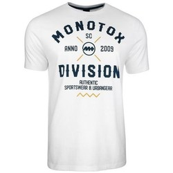 Clothing Men Short-sleeved t-shirts Monotox Division White
