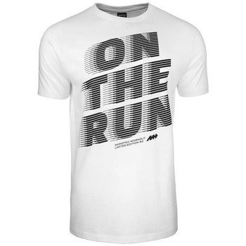 Clothing Men Short-sleeved t-shirts Monotox ON The Run White,Grey