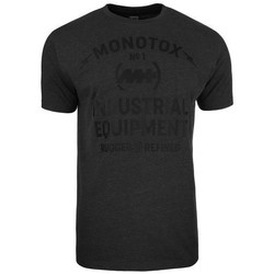 Clothing Men Short-sleeved t-shirts Monotox Industrial Black