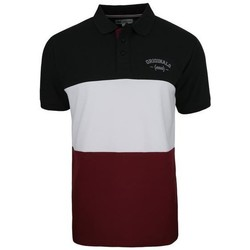 Clothing Men Short-sleeved polo shirts Monotox Polo College Burgundy,White,Black