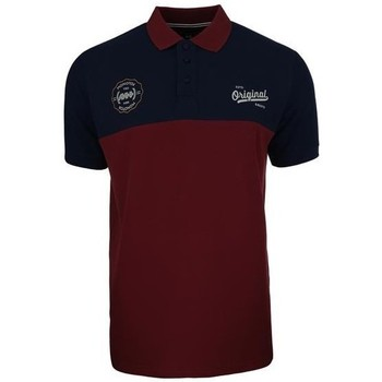 Clothing Men Short-sleeved polo shirts Monotox Polo Originals Burgundy,Black