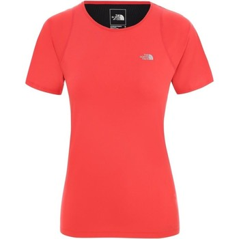 Clothing Women short-sleeved t-shirts The North Face Ambition Red