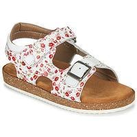 Shoes Girl Sandals Kickers FUNKYO White