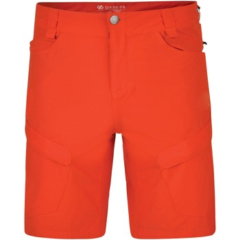 Clothing Men Shorts / Bermudas Dare 2b TUNED IN II Waterproof Technical Shorts Atlantic Blue Red Red