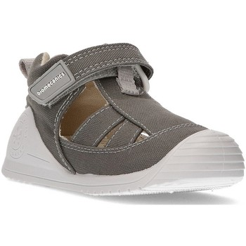 Shoes Children Sandals Biomecanics Sandals  CANVAS BABY AZAI GRAY