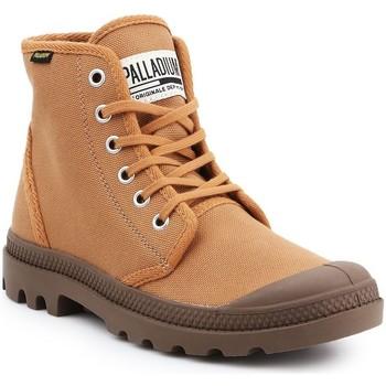 Shoes Men Hi top trainers Palladium Pampa HI Originale 75349-230-M brown